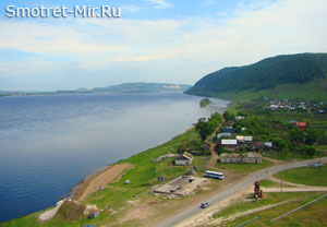 Река Волга фото