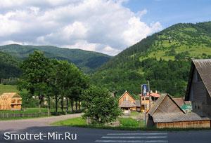 Село Карпаты