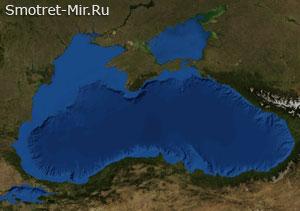 Снимок Черного моря