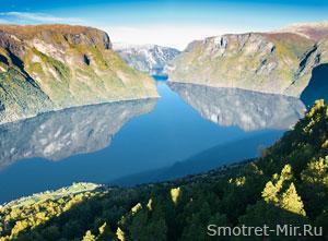 Вид на Скандинавские горы