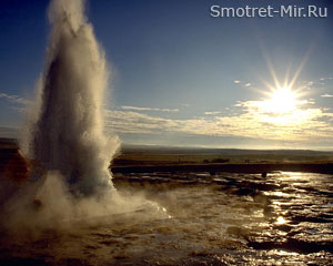 Гейзер Исландии