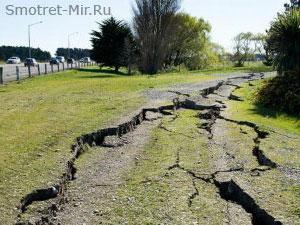 Землетрясения фото