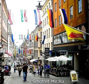 Бродя по улицам Стокгольма