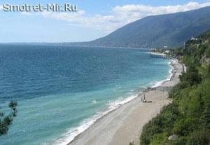 На берегу Черного моря