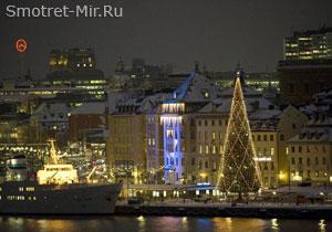 Скандинавия зимой