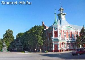 Город Азов в России
