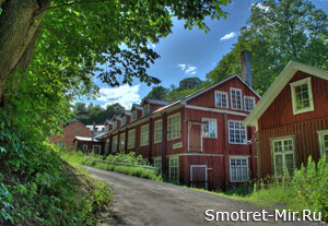 Город Йенчепинг в Швеции