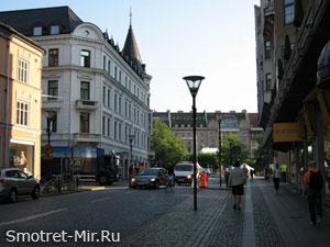 Город Мальме в Швеции