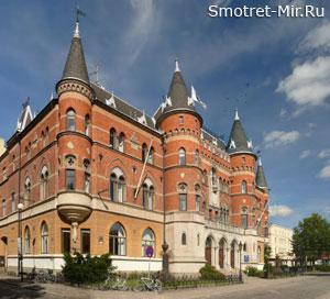 Город Эребру в Швеции