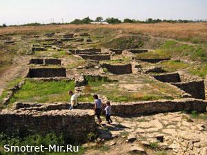 Древний город Танаис