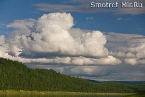Состояние воды в облаке