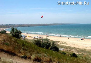 Широкино Азовское море