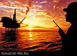 Добыча газа в Азовском море