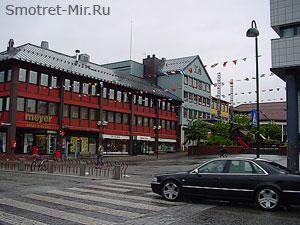 Му-и-Рана в Норвегии