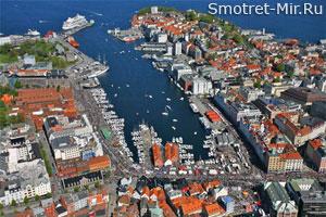 Берген в Норвегии