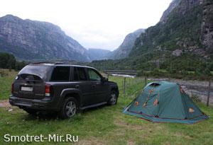 В Норвегию на автомобиле