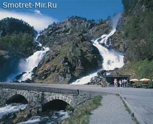 Район больших фьордов Норвегии