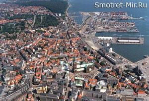 Город Орхус в Дании
