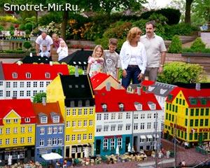 Лего город в Дании