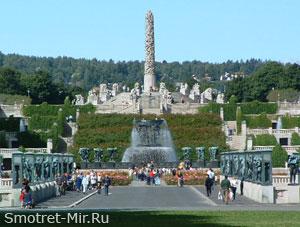 В Осло есть Фрогнер-парк