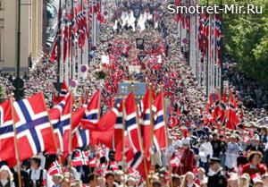 Национальный праздник Норвегии