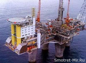 Добыча нефти Северное море