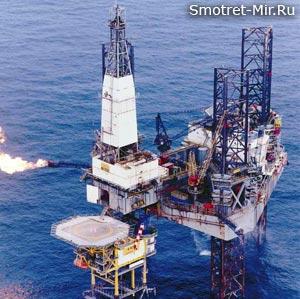 Добыча нефти в Северном море