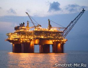 Работа на нефтяных платформах