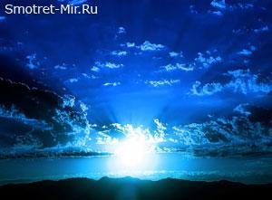 Солнце в синих небесах