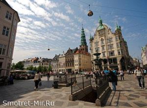 Улицы города Копенгаген