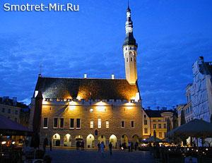 Город Таллин в Эстонии