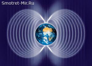 Магнитосфера Земли фото