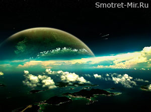 Заряженная частица в атмосфере