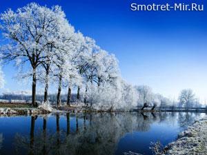 Амур зимой