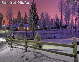 Финляндия зимой