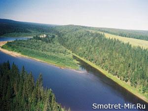 Река Печора фото