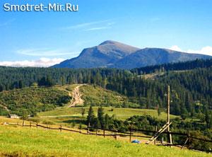 Горы Карпатские