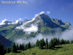 Горы альпийской складчатости