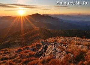 Карпатские горы фото