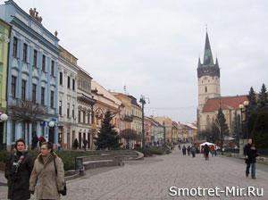 Прешов в Словакии