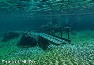 Зелёное озеро Австрия