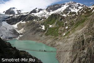 Подвесные мосты (Трифт, Швейцария)