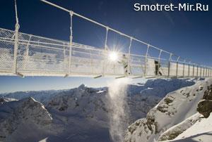 Самый страшный мост (Титлис, Швейцария)
