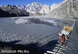 Страшный мост (Хуссаини, Пакистан)