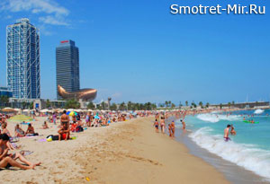 Barceloneta Beach Испания