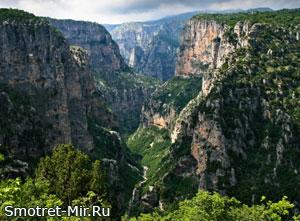 Красивый каньон - Викос (Греция)
