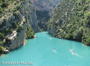 Самые красивые каньоны в Европе - Вердон (Франция)