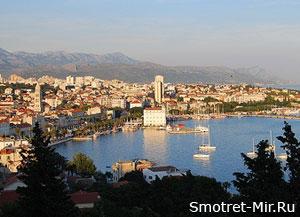 Сплит город в Хорватии