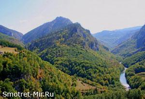 Тара Черногория