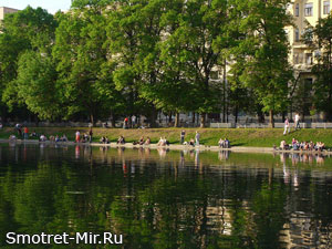 Лучшие парки Москвы